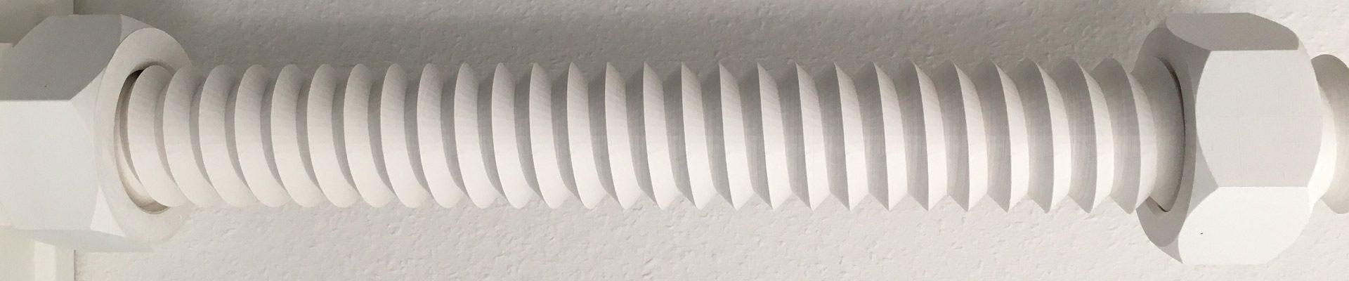 Rheinturm aus dem 3D-Drucker