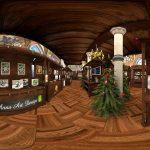 Schloss Burg virtueller Weihnachtsmarkt